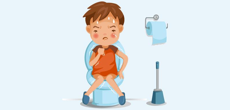 Pres ikke når du sidder på toilettet - det kan give hæmorider