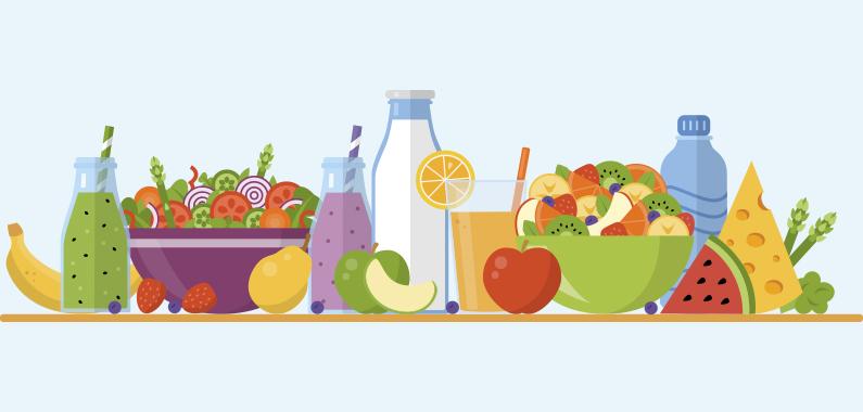 Sund mad kan virke forebyggende